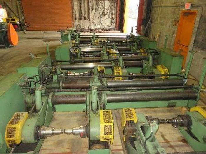 """Used 76"""" (1.93M) ECH WILL UNWIND STAND 60 """" OD ROLLS TWO AVAILABLE"""