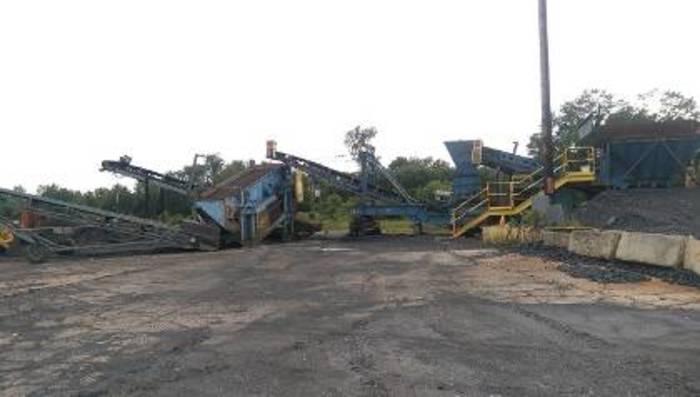 Hartman Fabco Crushing Plant