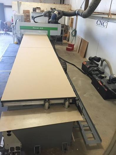Biesse Rover A3.65 Flat Table -  With Right Angle Agregate plus tooling