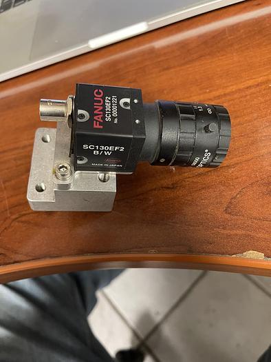 Used USED-FANUC SC130EF2 B/W CAMERA WITH EDMUNDS OPTICS