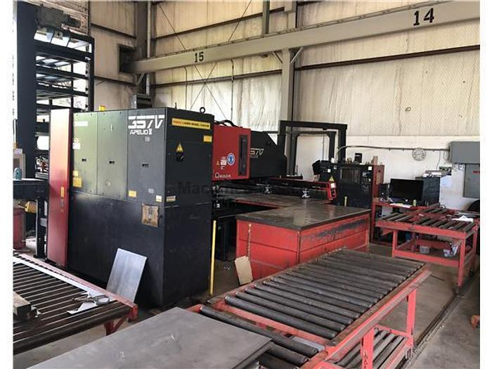1997 Amada Apelio III Punch/Laser Combination on 357 Vipros w. Shelf Loader