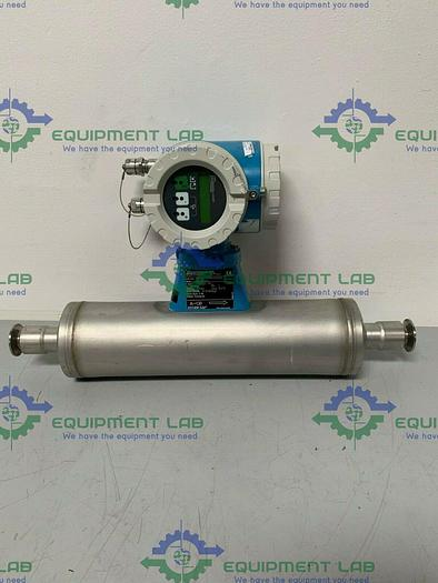 """Used Endress Hauser Promass 63IT25-FTH40A00B1A 1"""" Triclamp Flowmeter"""