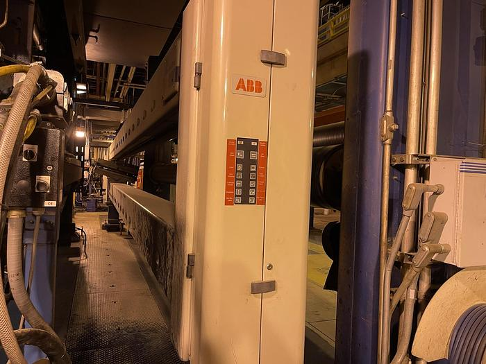 """Used 290"""" QAULITY CONTROL SYSTEM ABB SCANNER"""
