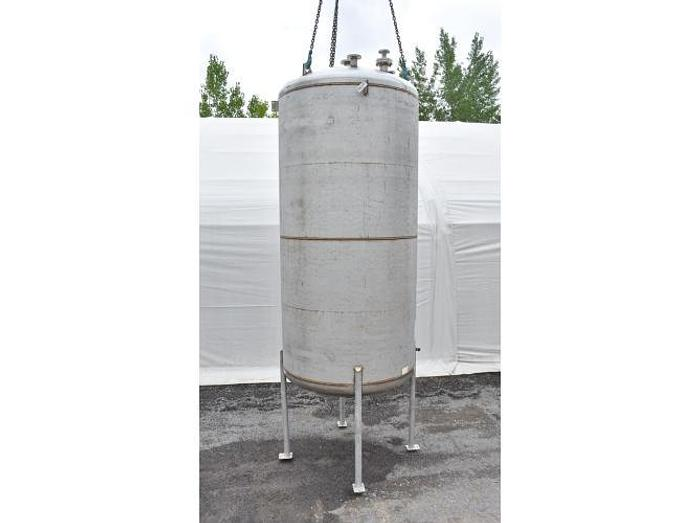 USED 3450 GALLON TANK (VESSEL), 304 STAINLESS STEEL