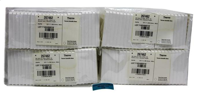 Thermo Scientific Nunc, 267462, 384- Shallow Well, Lot of 100 New (6752)W