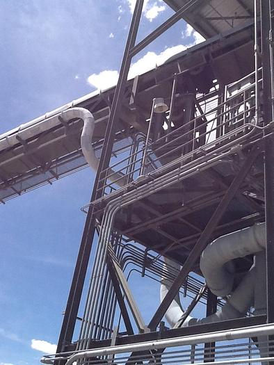 1 Complete coal conveyor and crushing system.  This tower contains all