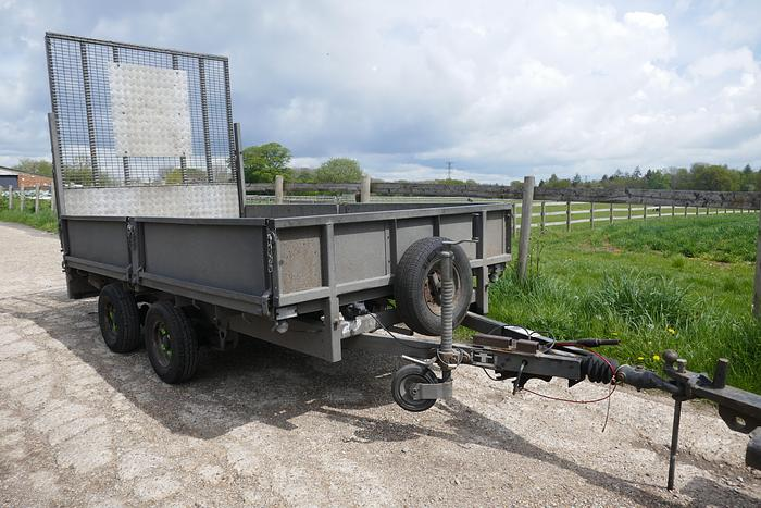 Used IFOR WILLIAMS LT1050 TIPPING TRAILER