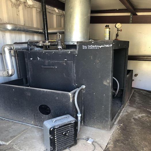 Used Parker 15 Hp Steam Boiler #103-15
