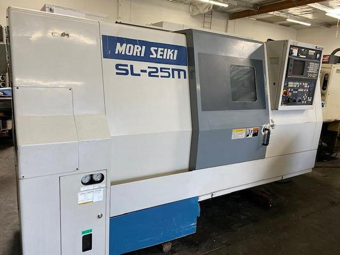 Used MORI SEIKI SL-25MC CNC TURNING CENTER LIVE TOOLING #5660