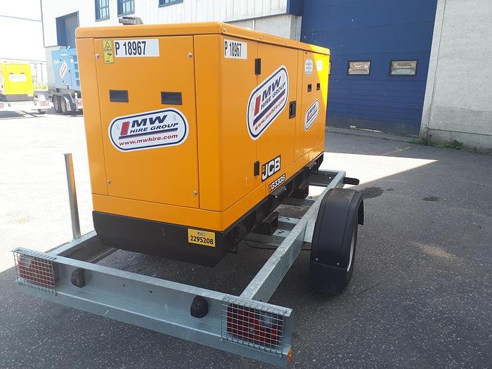 JCB  G33QS - Road Tow - Rental Spec