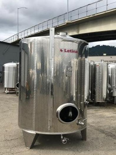 New Stock - Letina 5000L Jacketed closed tank