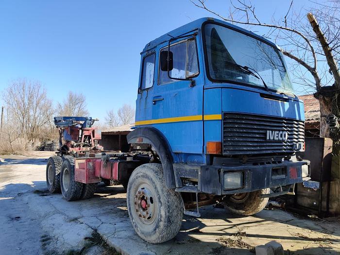Gebruikt 1986 Iveco 330.26 6x4 full steel