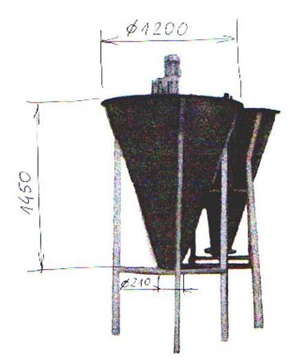 Used Zbiornik z dozowaniem