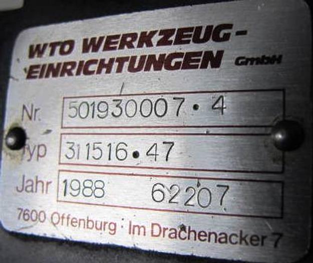 Werkzeughalter WTO 311516-47  angetr. WZ VDI 30