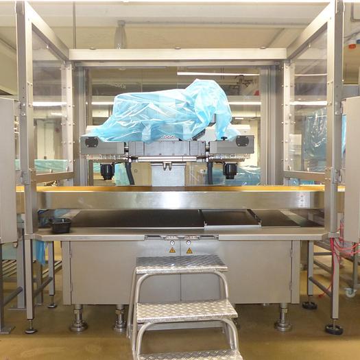 Gebraucht gebr. Gießmaschine KNOBEL Type KCM-Alpha X-NI-9/18-45, Baujahr 2012
