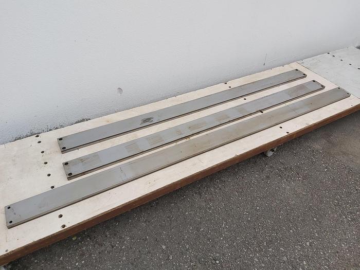 Gleitbahnen für Druckgussmaschinen, 125 x 25mm, Oleopress / OP Die Casting, Idra, neu