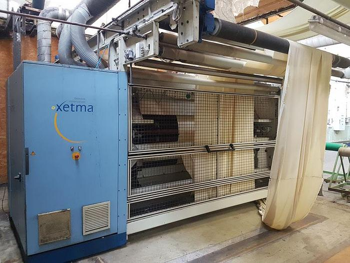 Used XETMA Raising emerizing sueding machine