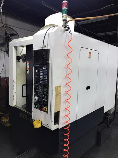 Used 2010 ARES SEIKI R4530 WITH 4 ASIX CNC DRILL AND TAP MILLING MACHINE
