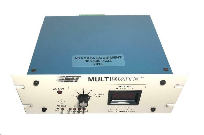 Used EIT Multibrite LM40745-1 4 Channel UV Monitoring System USED (7818) R