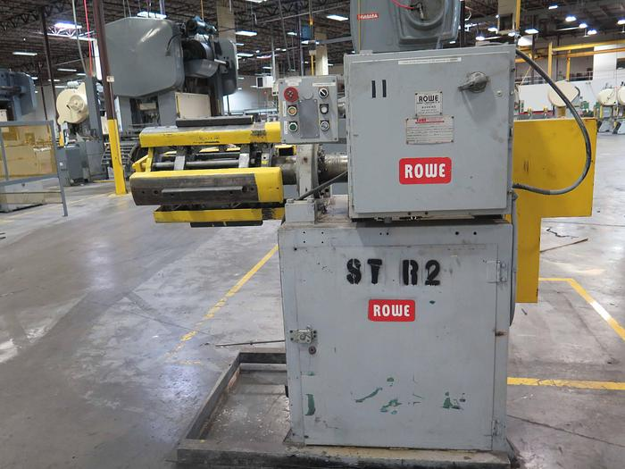 "Used 10,000# X 28"" WIDE ROWE MOTORIZED UNCOILER"