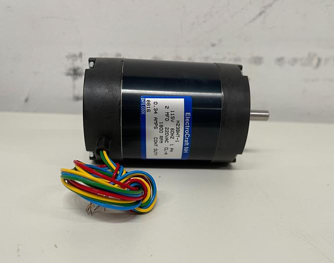 Used ElectronCraft NH  H23BHT-1 Stepper Motor 115V 60HZ