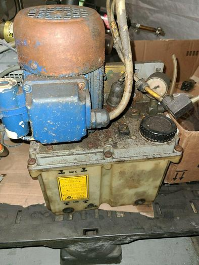 Used DropsA Lubrication Unit M56B4 220V Off Bridgeport VMC CNC unit