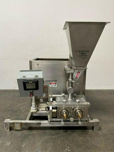 Used FitzPatrick 2LX8D Series L-89 Stainless Steel Chilsonator