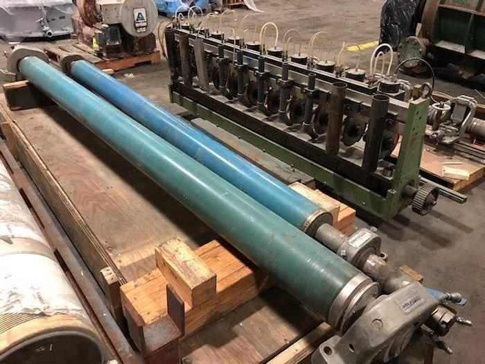 """Used BOWED ROLL MT. HOPE 7""""   (179MM)  DIA. X 109"""" (2.77M) FACE"""