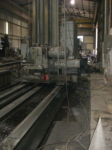 """6"""" Gray Horizontal Boring Mill, X=240"""", Y=120"""", 750 RPM, DRO"""