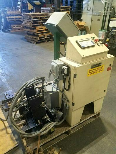 """Used PRF Systems Waddington 6"""" Servo Stock Feed 14016 with Triad Contral Panel"""