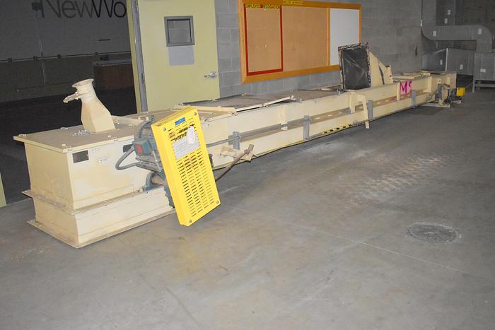 Used belt conveyor 26 ft long, 24 inch wide belt conveyor,