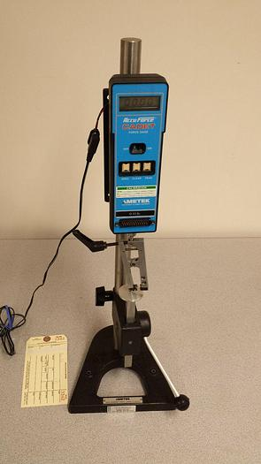 Used Accuforce Cadet 0-10 Lb. Force Gage Pull Tester Lab Test