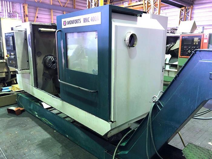 2001 CNC Drehmaschine MONFORTS RNC 400 A