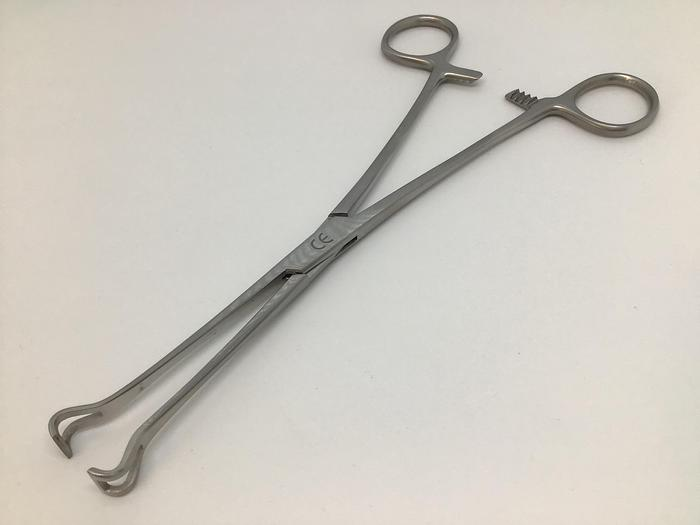 Forceps Intestinal and Lung Grasping Babcock Straight 200mm (8in)