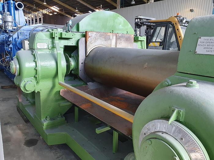 Used Robinson 84in 2 Roll Mill