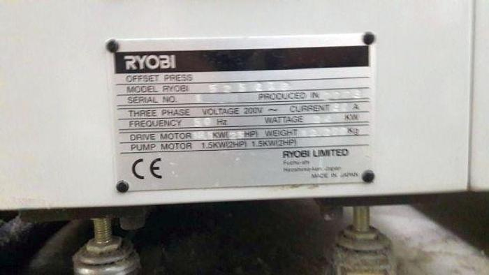 2008 RYOBI RYOBI-525-GXP
