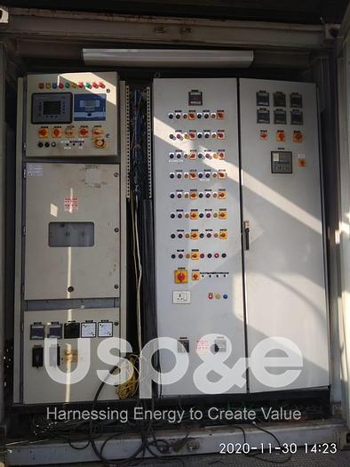 Used 2 MW 2011 Used MWM TCG2020V20 Natural Gas Generator