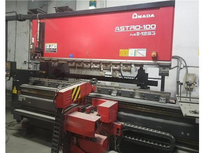 2000 138 Ton Amada Astro-100 FBD-III-1253 CNC Robotic Press Brake