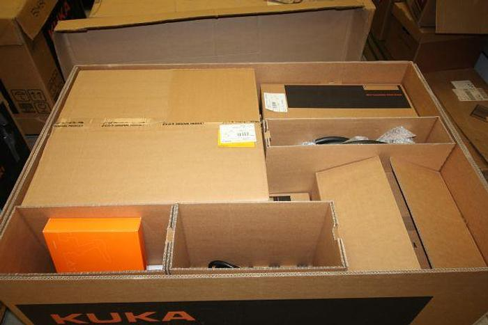 2015 5-KUKA NEW NEVER USED KR6 R700 sixx ROBOTS WITH KRC4 KUKA CONTROLLER