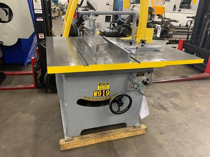 TANNEWITZ MODEL XJ TABLE SAW  XJ [5615]