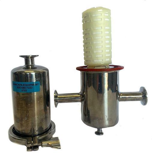 Used Sartorius 7S10LSB00589 Filter Housing W/ Sartoflour GA 0.2 µm Cartridge (6702) W
