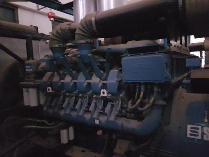 1.48 MW 2006 Used SDMO XS 1850 Diesel Generator