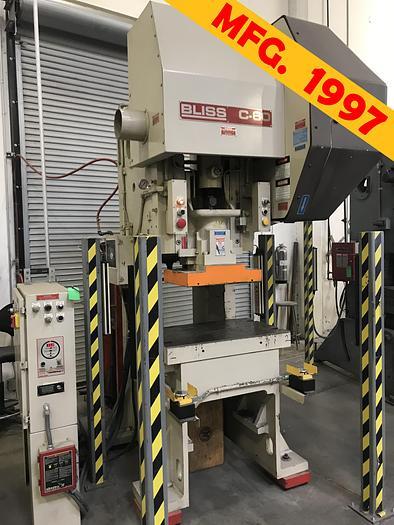 Used 1997 60 Ton Bliss C-60 OBI Press