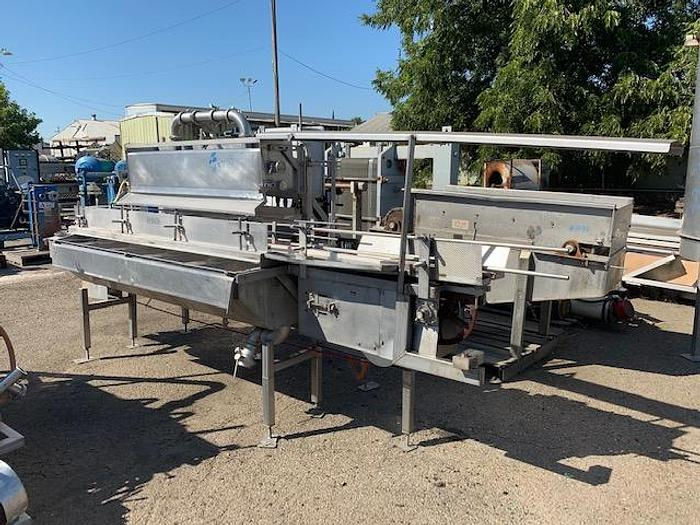 Used Stainless Steel Overflow Briner