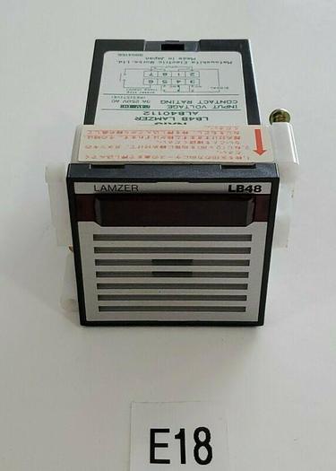 Used *PREOWNED* Matsushita LB48 LAMZER ALB40112 Switch 250 VAC 3A + Warranty!