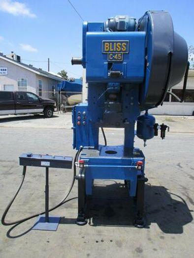 Used Bliss C-45