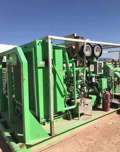600hp Triplex Pump Skid