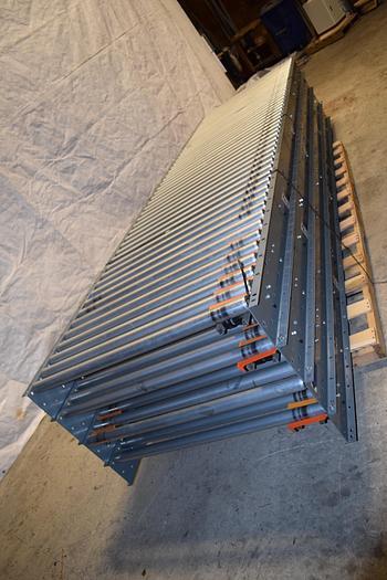 Used Conveyco Intelligrated Intelliq roller conveyor system