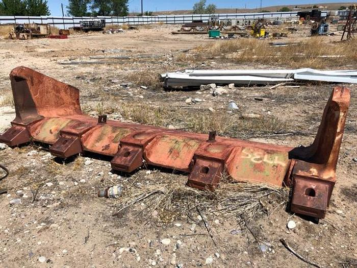 HB18247 dragline bucket 35 or 40 yard with spare new replacement cutting edge Esco