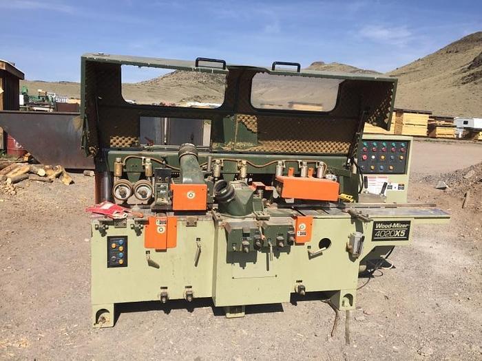 Wood Mizer Model 4020X5 – includes cutterhead